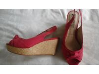 Wedges size 5 wide fit.