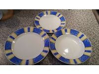 Dinnerware set for 6 people - NEW, unboxed