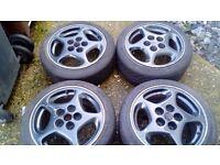 16 inch nissan alloy wheels
