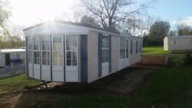 static caravan for sale, Atlas Image 2003 sited isle of sheppey in kent