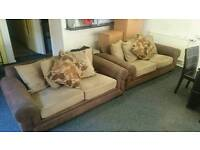 Fabric sofa 2x2 ( free delivery)