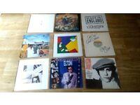 28 x elton john collection vinyls / tour progs / tickets / promos