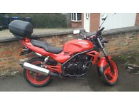 1997 Kawasaki er 500 in very good condition new tyres runs perfectly