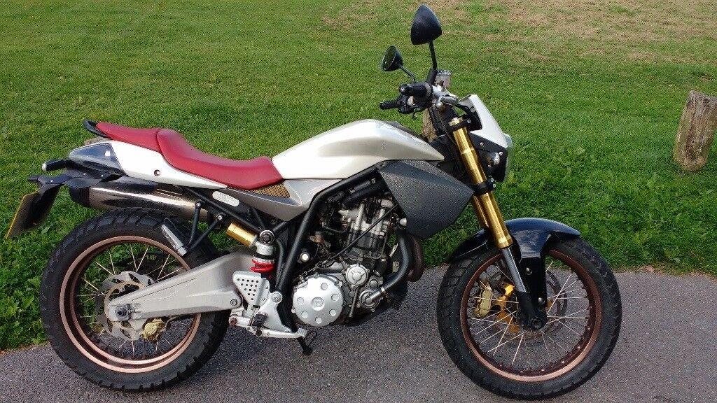 Derbi Mulhacen 659 Motorcycle | Street Tracker / Scrambler / Cafe Racer | 8.9k miles VGC
