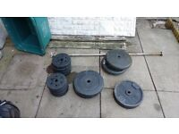 5ft bsrbell and various weights