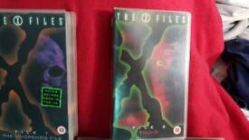 6 x files video tapes