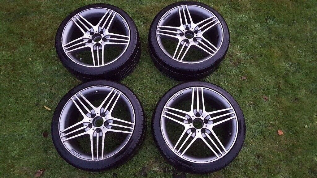 "Genuine Mercedes 18"" Alloy Wheels with tyres"