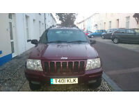JEEP GRAND CHEROKEE, 4L PETROL&LPG, SPARES & REPAIR, GEARBOX PROBLEM