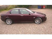2004 Alfa Romeo 156 Veloce 1.9 JTD Saloon. MOT JULY 2017.