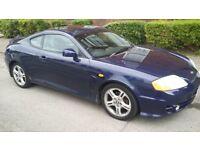 Hyundai coupe V6 03 plate Blue