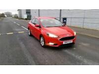 2015 15 reg Ford Focus 1.6 TDCi diesel titanium 5 door hatchback