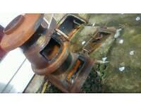 Log burner cast iron