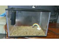 22 Litres fish tank and extra