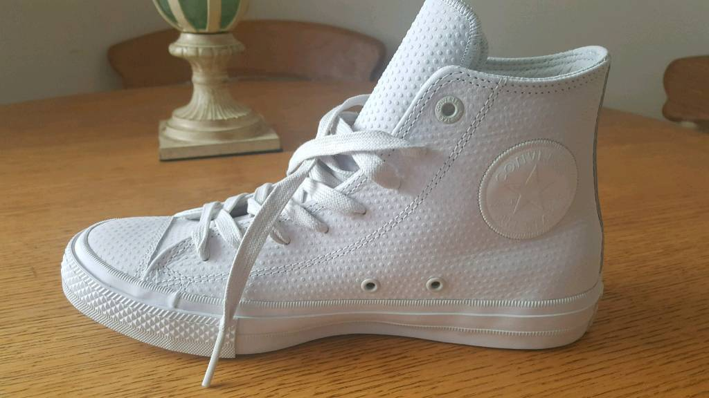 Converse All Star High top brand newwhite trainers