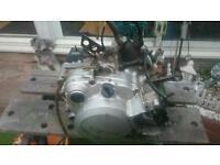 Yamaha dt engine