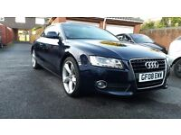 Audi a5 3.2 fully loaded! Low mileage 72300miles!