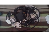 Various audio/scart leads/phone extension leads