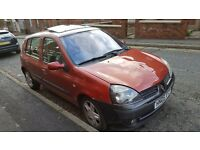 Renault Clio manual 1.5 diesel very Economical car on diesel mot till 08 june 2017.