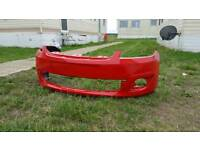 Ford fiesta st or zetec s 2007 front bumper