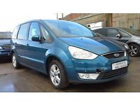 **FOR BREAKING** 2010 FORD GALAXY (BLUE).