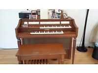 Carousel electric organ in working order.