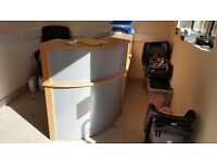 Reception Desk for sale- AS NEW
