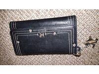 Radley black purse/keyring