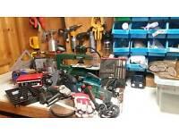 Various tools etc.
