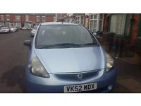 Honad jazz five door for sale