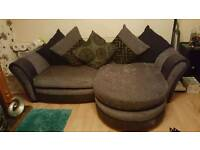 Dfs sofa+chair (had very little use)