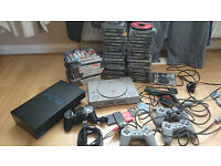 ps1 ps2 consoles and games