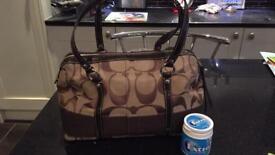 Coach handbag hand bag radley guess