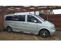 Mercedes vito extra long wheel base 9seats manuel