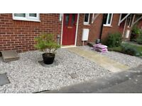 Moonstone 20mm decorative gravel garden patio