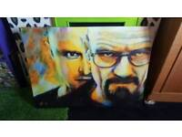 Large Breaking Bad canvas
