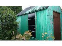 6 x 8 Tall Metal shed