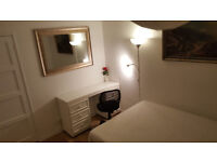 Double room available for short let- quiet room- £410 pm