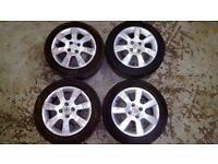 "Vauxhall Corsa 15"" Alloys - 3 different sets available (Astra, Tigra, Nova)"