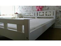 Two Ikea Kritter beds