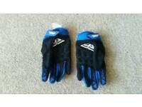 Motorbike kids gloves