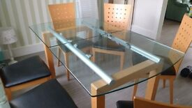 6seater extendable dining table