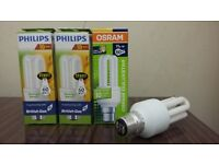 Asorted light bulbs