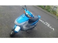 MOPED RUNS PERFECT NO PROBLEMS, HAS MOT!
