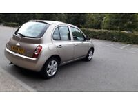 Nissan micra automatic, full service history, 2 keys, low mileage, excellent condition