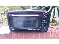 Electric Mini Kitchen Oven, Grill & Hob
