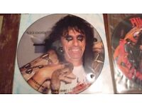 Alice Cooper Vinyl Record Collection- Large unique collection- old Alice albums.