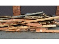 FREE FREE 6X2 USED LONG LENGTHS TIMBER IDEAL FOR USE OR LOGS