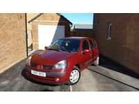 Burgundy, Renault Clio 2001 MOT May 2017. Sold as Seen