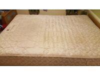 Double sprung mattress. No longer needed as new divan comes with a mattress as a set.