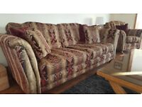 Outstanding Alston Lowery High Quality 4 Seater Sofa in excellent condition